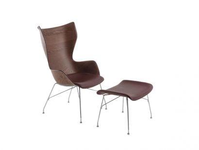 Kartell K/Wood Armchair