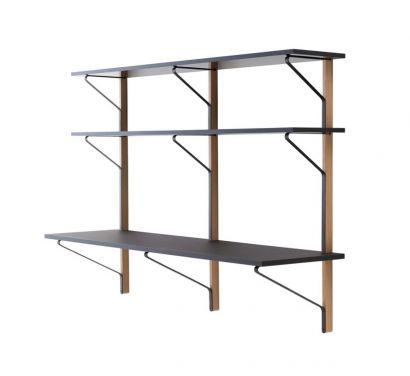 REB 010 Kaari Shelves with Desk