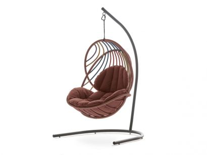 Kida Hanging Lounge Chair with Base - 170 Glow Touch