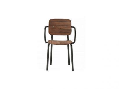 Infiniti Ekki Chair with Armrests