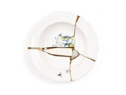 Kintsugi Soup Plate 09621