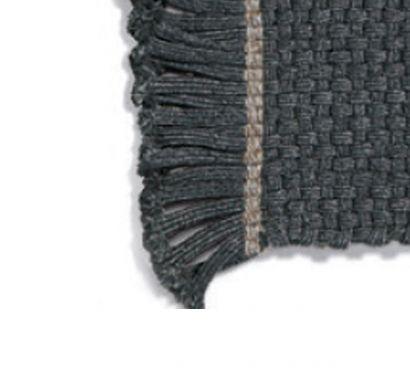 Knot 001 Rug - Lead