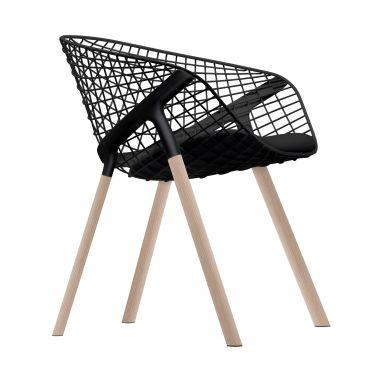 Koby Chair Oak / Chrome