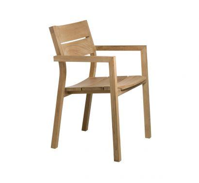 Kos Petit fauteuil jardin en teck