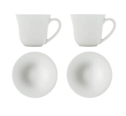 Ku Mocha Cup + Saucer - Set 2pc