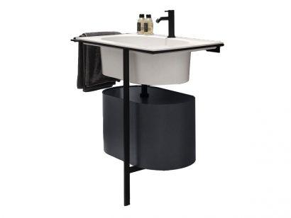 Kyros Bathroom Sink and Cabinet Composition