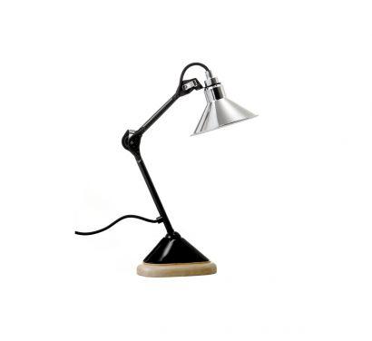 N°207 Satin Black Table Lamp