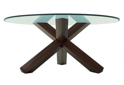 452 La Rotonda Table - Crystal Top