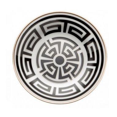 Labirinto Noir Assiette pour Tasse à Thé Ø 13,5 cm