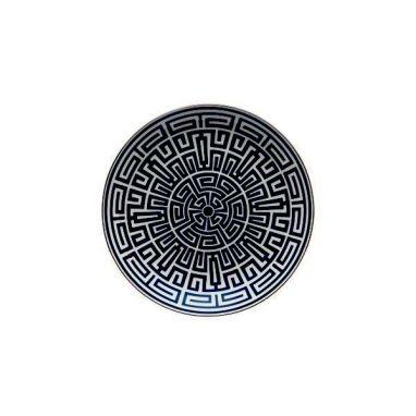 Labirinto Noir Assiette Pièce Maîtresse Ø 31 cm
