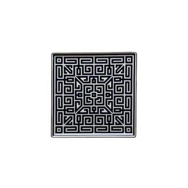 Labirinto Noir Assiette Vide-Poches L. 30 cm - P. 30 cm