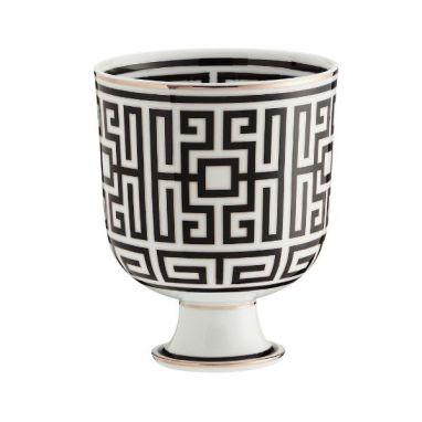 Labirinto Noir Cachepot Vase H. 19