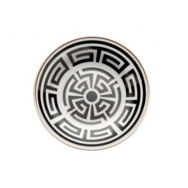 Labirinto Noir Assiette pour Tasse à Café Ø 11 cm