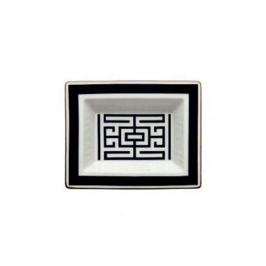 Labirinto Noir Vide-Poches Rectangulaire L. 19 cm - P. 15 cm