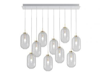 Lantern 10 Chandelier