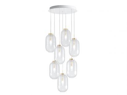 Lantern 7 Chandelier