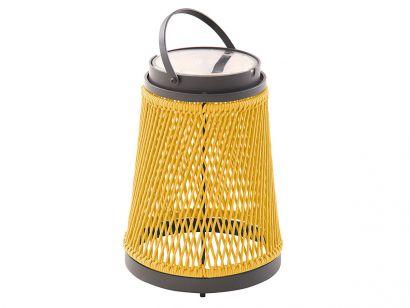 Solare Lantern - Rope and Graphite Aluminium