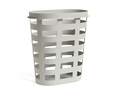 Laundry Basket Cestino - Grande - Grigio Chiaro