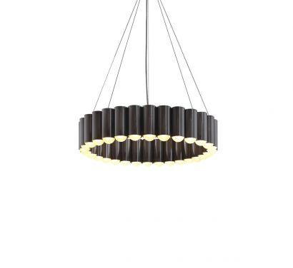 Carousel Gris acier Lampe à suspension