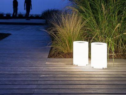 lenta davide groppi outdoor lamp