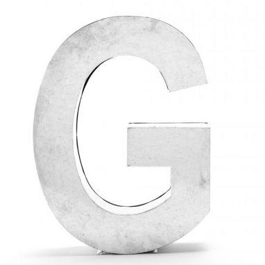 Metalvetica Letter G in Metal / Large