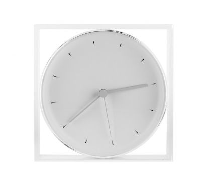Void Clock Wall/Table Clock - White