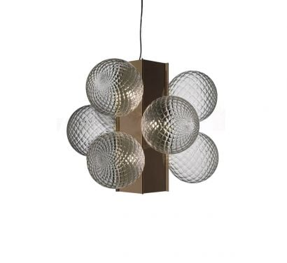 Lincoln Suspension Lamp - Crystal H.110
