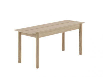 Linear Small Wood Bench - Muuto - Mohd
