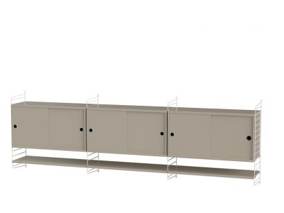 Living Room E - Shelving System