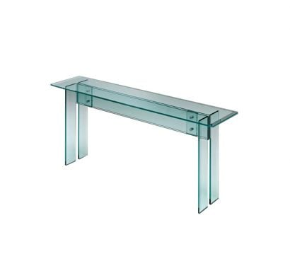 LLT Consolle In Transparent Glass