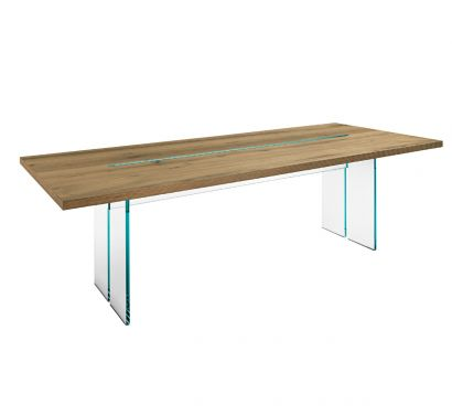 LLT Wood Table - 240 Old Oak/Transparent