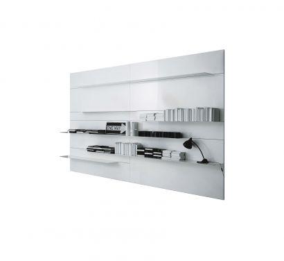 Load-It - Libreria in acciaio verniciato bianco
