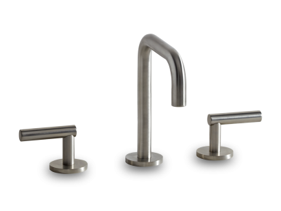 Deck Mounted 3 Hole Bath Set with Tall Spout - LOF10