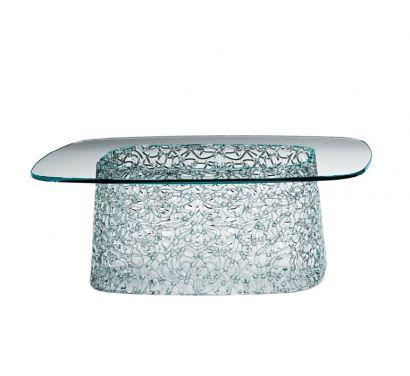 Macramè Low Table Transparent