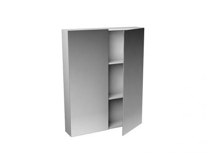 Mantra Double Faced Mirrored Wall Cabinet - H. 75 cm