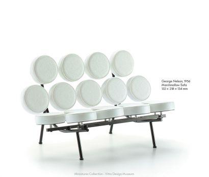 Marshmallow Sofa - Miniatures De Collection