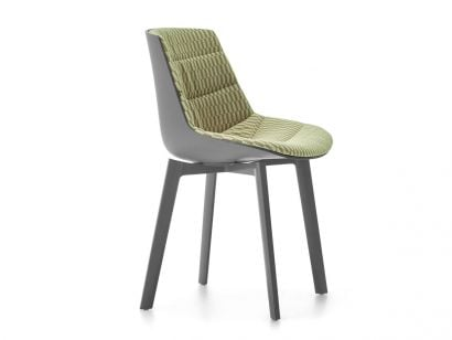 Flow Chair Color 4 Gambe Cross - Spring 11