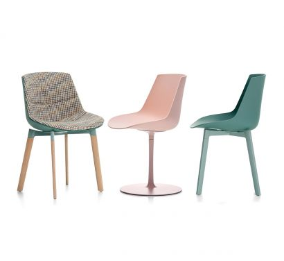 Flow Chair Color Collection MDF Italia