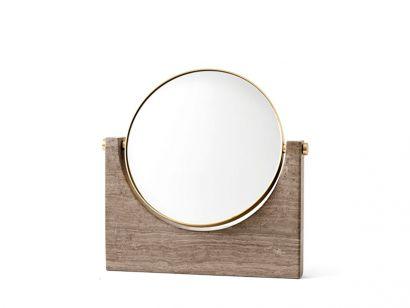 Pepe Marble Mirror Brown