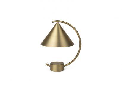 meridian portable lamp battery  brass