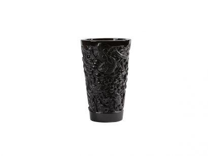 Merles et Raisins Medium Vase Black