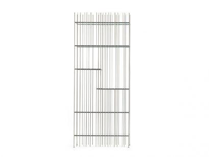 Mogg Metrica Bookcase A Titanium/Green Shelves