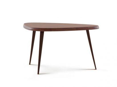 527 Mexique Service Table Canaletto Walnut - H. 70 cm