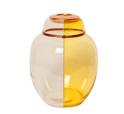 Mi&You Vase Yellow-Transparent