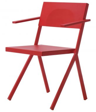 Mia Armchair Red
