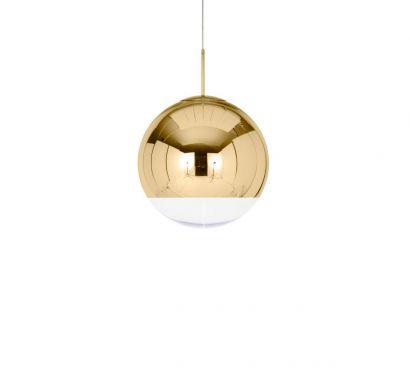 Mirror Ball Gold 50 cm Pendant Lamp