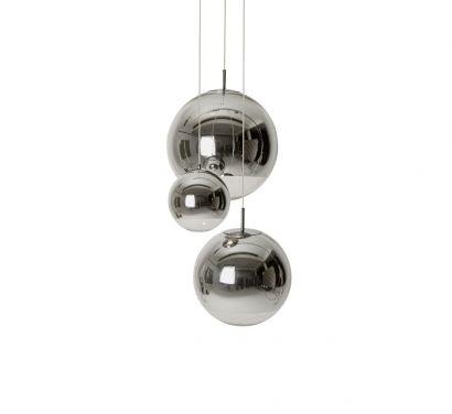 Mirror Ball Pendant System Cromo