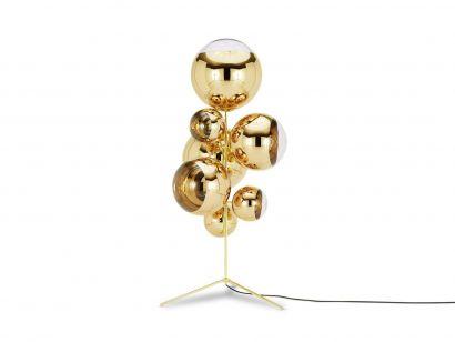 Mirror Ball Stand - Lampada da Terra