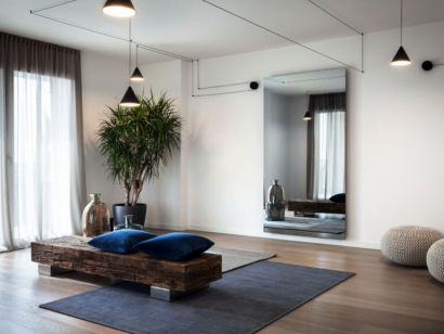 """Vanishing Mirror TV 50"""" Xenia Design"""