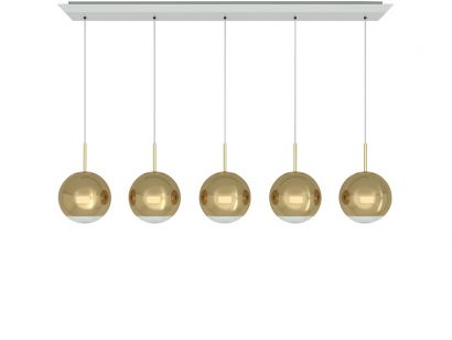 Mirror Ball Linear Pendant System - Tom Dixon Mohd